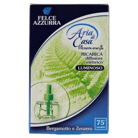 Image of Felce Azzurra Aria di Casa Ricarica Diffusore elettrico Bergamotto e Zenzero 20 ml 8001280032226