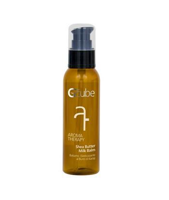 Image of Gcube Aroma Therapy Shea Butter Milk Balm - Balsamo Spray Elasticizzante al Burro di Karite' 100 ml 8054181911640