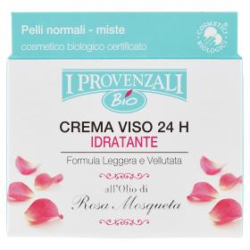 Image of I Provenzali Bio Crema Viso 24 H Idratante Pelli Normali e Miste 50 ml 8025796004201
