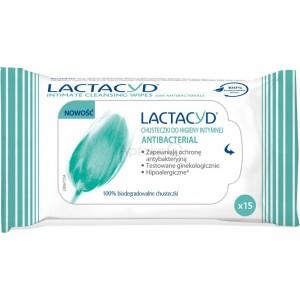 Image of Lactacyd Salviettine Intime con Antibatterico 15 pz 5391520943584