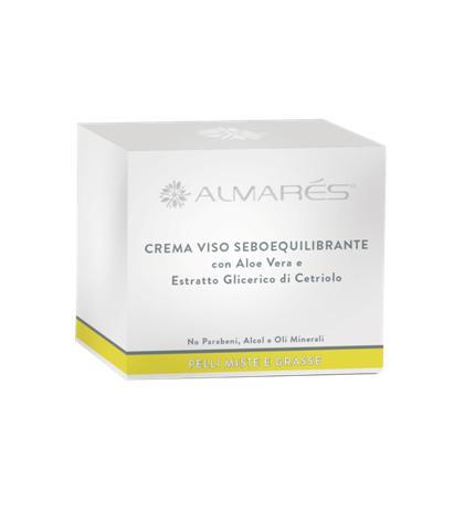 Image of Almarés Crema Viso Seboequilibrante per Pelli Miste e Grasse 50 ml 8052439841909