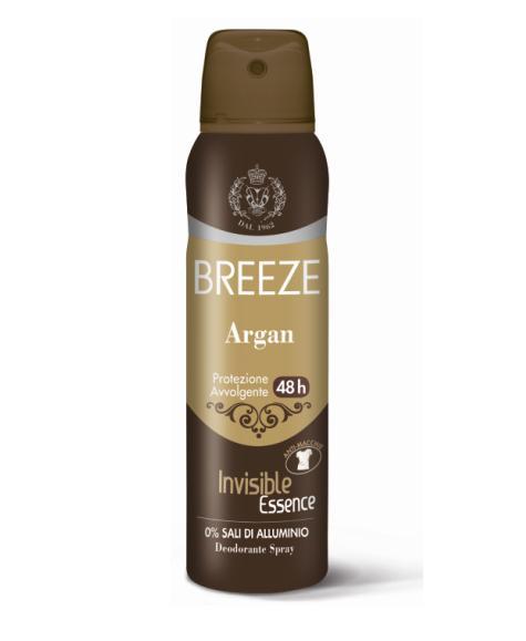 Image of Breeze Deodorante Spray 48H Argan 150 ml 8003510027637