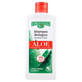 Image of I Provenzali Shampoo Biologico Riparatore Aloe Capelli Deboli e Sfibrati 250 ml 8025796004768