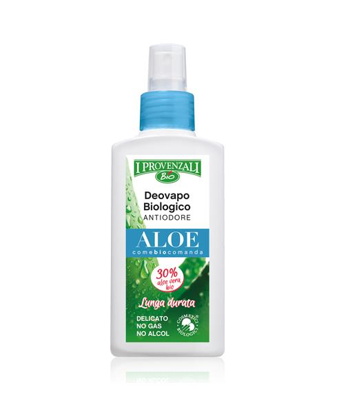 Image of I Provenzali Deovapo Biologico Antiodore Aloe Lunga Durata 75 ml 8025796004799