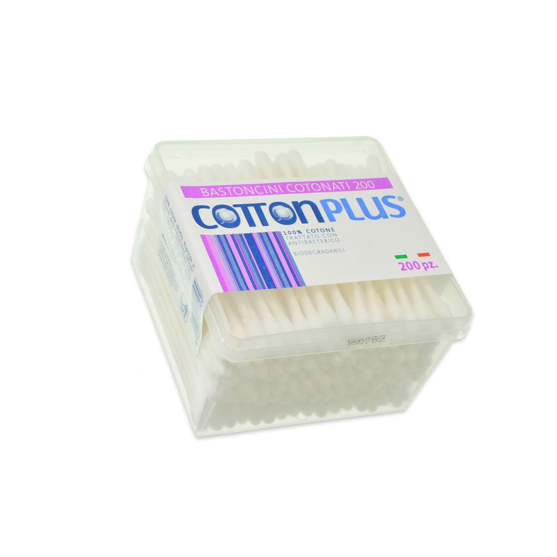 Image of Cotton Plus Bastoncini 200 pz 8023546040004