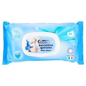 Image of Assorbello Salviettine Igieniche per Bambini 64 pz 8007300005201