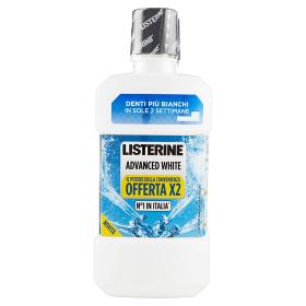 Image of Listerine Colluttorio Advanced White 2x500 ml 3574661229201
