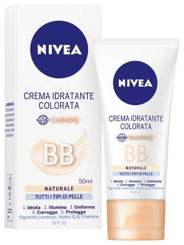 Image of Nivea Crema Idratante Colorata BB Naturale 50 ml 4005808867004