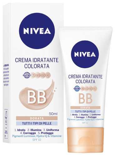 Image of Nivea Crema Idratante Colorata BB Dorata 50 ml 4005900867018