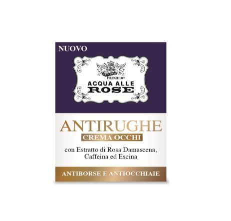 Image of Roberts Acqua alle Rose - Antirughe Crema Occhi 15 ml 8002410033724