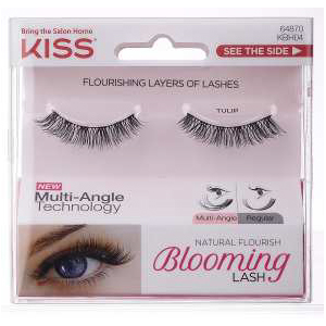 Image of Kiss Blooming Lash - Ciglia Finte KBH04C Tulip 0731509659214