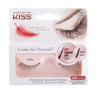 Image of Kiss Looks so Natural - Ciglia Finte KFL04C Sultry 0731509616552