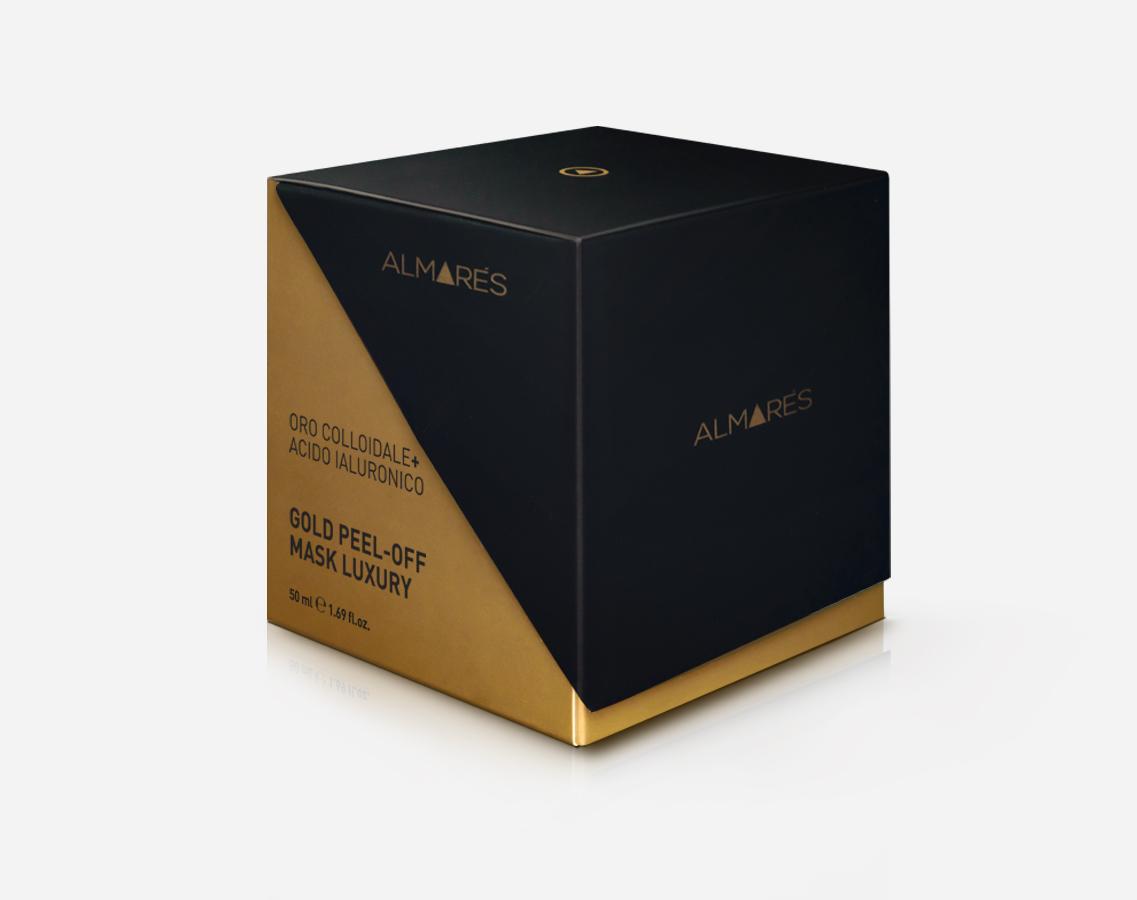 Image of Almarés Gold Peel-Off Mask Luxury Oro Colloidale + Acido ialuronico 8051566429080