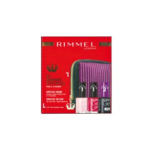 Image of Rimmel Pochette con 2 Smalti Colore Effetto Gel + Super Gel Top Coat 3614225471902