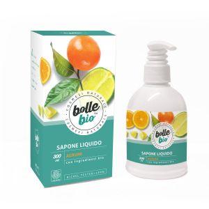 Image of Bolle Bio Sapone Liquido Agrumi 300 ml 8032649453024