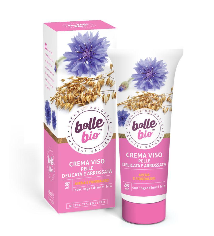 Image of Bolle Bio Crema Viso Pelle Delicata e Arrossata 50 ml 8032649453666