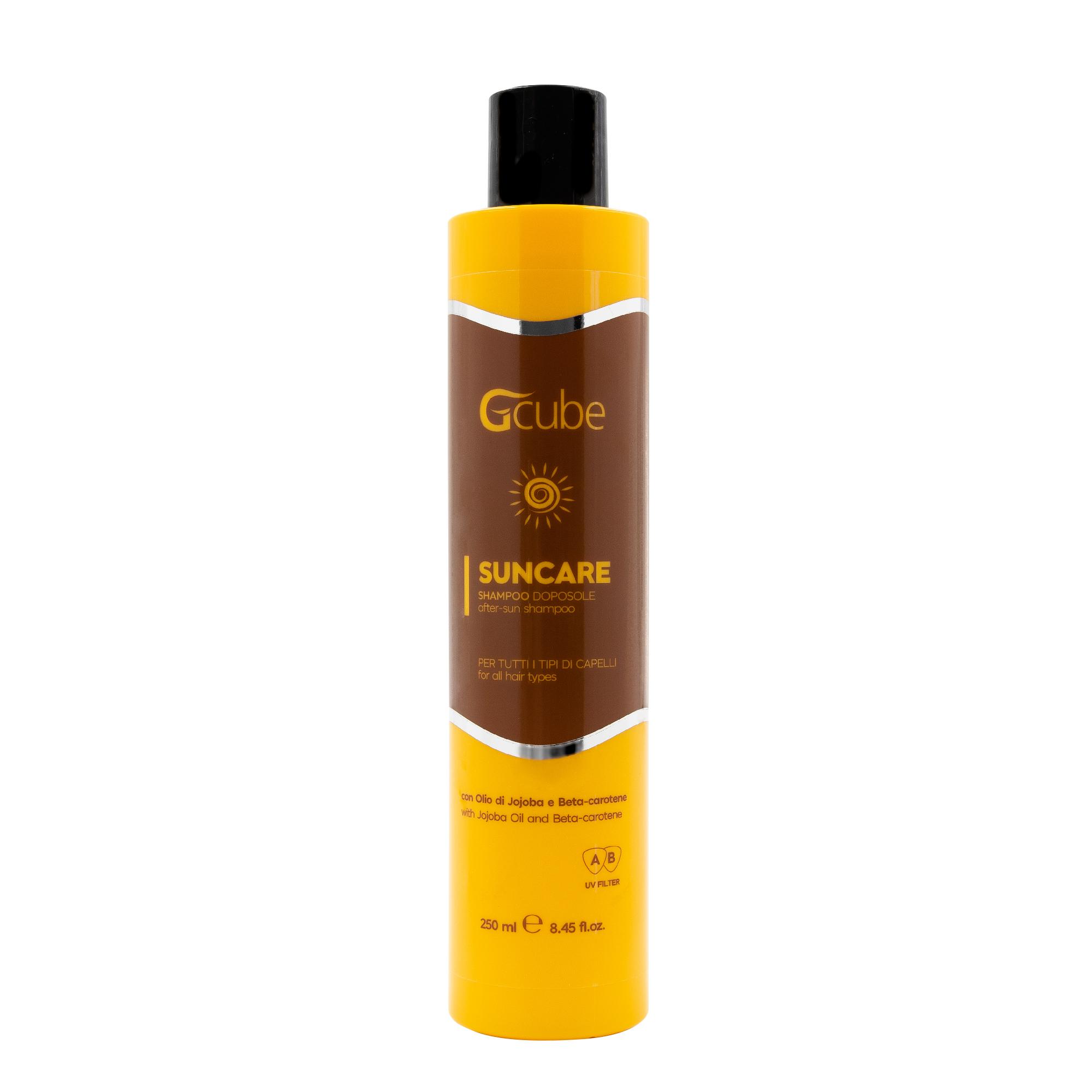 Image of Gcube Suncare - Shampoo Doposole con Olio di Jojoba e Beta-carotene 250 Ml 8054181911732