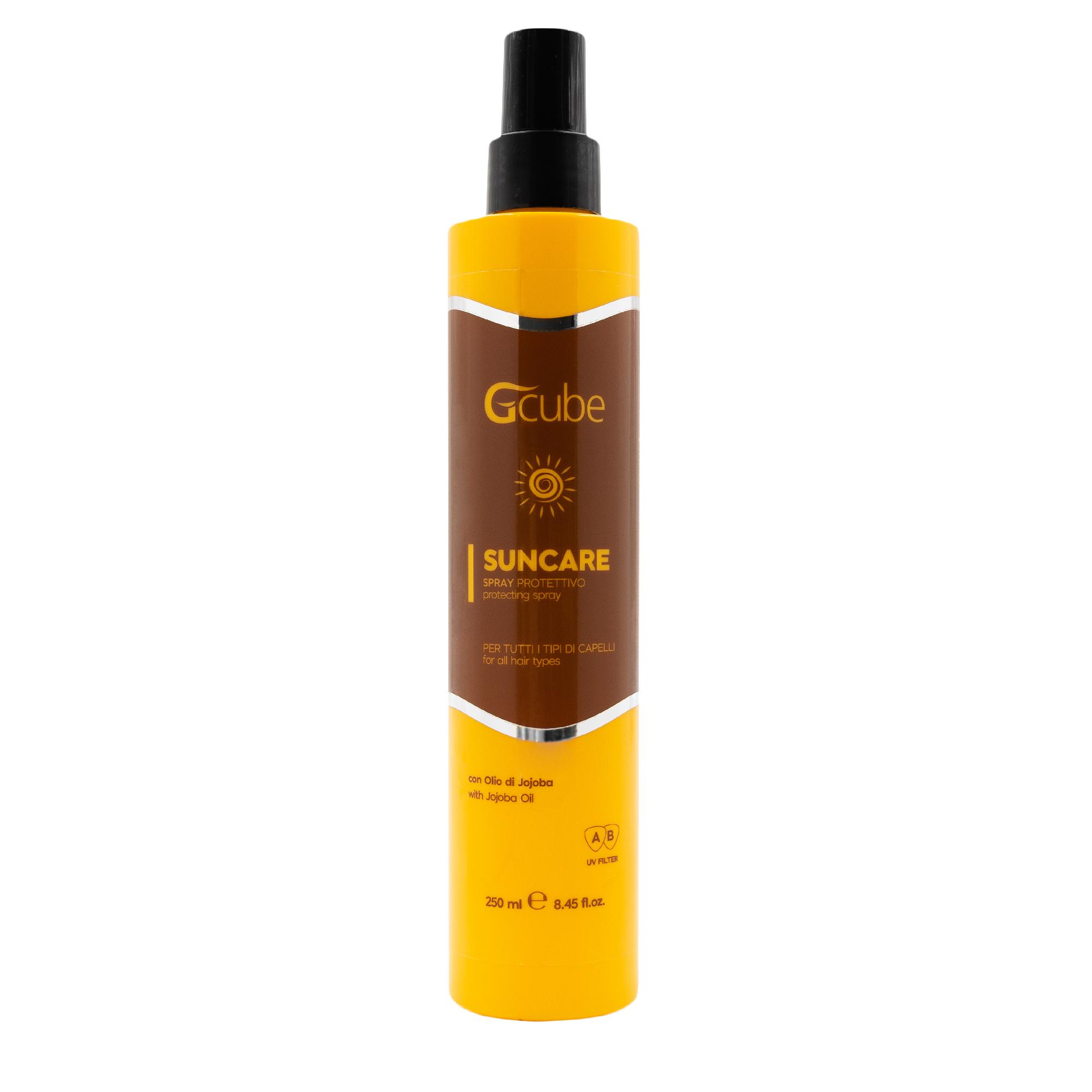 Image of Gcube Suncare - Spray protettivo con Olio di Jojoba 250 Ml 8054181911756