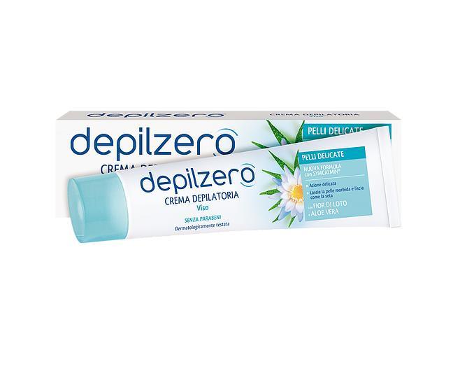 Image of Depilzero Crema Depilatoria Viso 50 ml 8004020534226