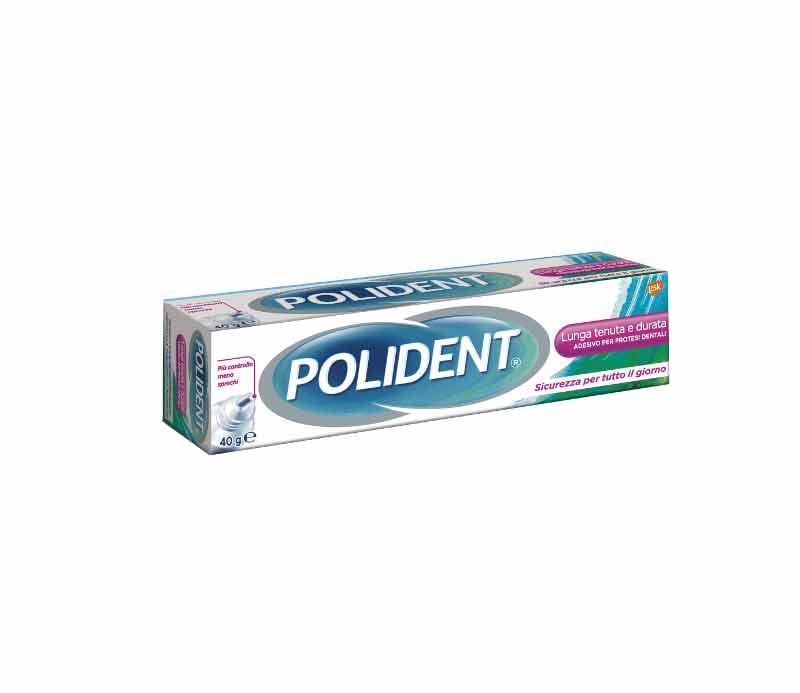 Image of Polident Adesivo Per Dentiere Lunga tenuta 40 g 5000198139464
