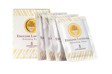 Image of English Lavender English Lavender Refreshing Tissue - Salviette Profumate 10 pz x 2 ml 8000600023364
