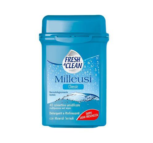 Image of Fresh&Clean Milleusi Classic 40 Salviettine Umidificate 80242796