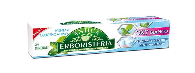 Image of Antica Erboristeria Dentifricio Fresco Polare Fluoro & Menta, Effetto Collutorio 75Ml 8015700153330