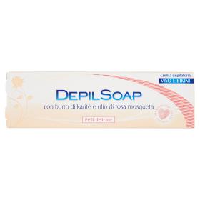 Image of Depilsoap Crema Depilatoria Viso e Bikini Pelli Delicate 75 ml 8005283014043