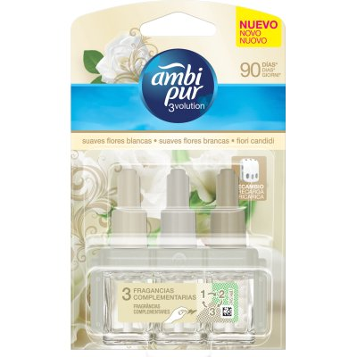 Image of Ambi Pur 3 Evolution Ricarica White Flow 4015600450502