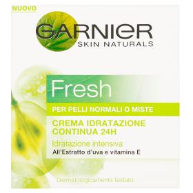 Image of Garnier Fresh Crema idratazione continua 24h per pelli normali o miste 50 ml 8024417106102