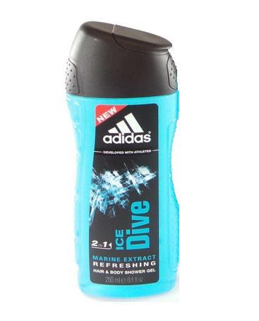 Image of Adidas Ice Dive - Doccia Schiuma 250 ml 5012209268858