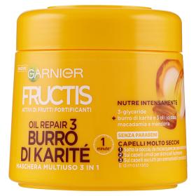 Image of Fructis Oil Repair 3 - Maschera per Capelli molto Secchi 300 ml 3600540465566