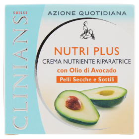 Image of Clinians Nutri Plus Crema Nutriente Riparatrice Pelli Secche e Sottili 50 ml 8003510008100