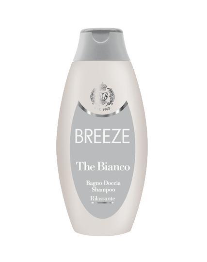 Image of Breeze Breeze The Bianco - Bagno Doccia Shampoo Rilassante 400 ml 8003510018154