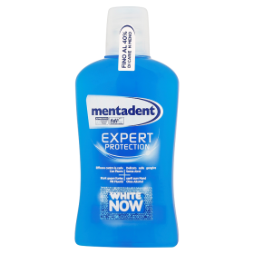 Image of Mentadent Colluttorio Expert Protection White Now 500ml 8718114060071