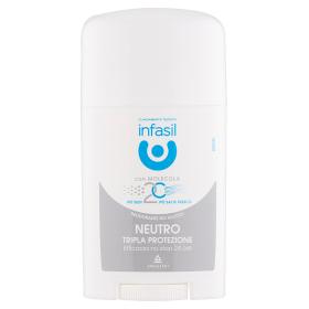 Image of Infasil Neutro Tripla Protezione Deodorante Stick 40 ml 5011321928251