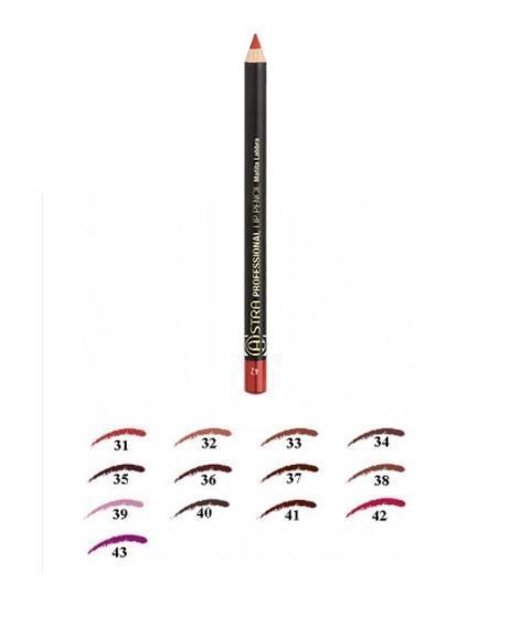 Image of Astra Lip Pencil - Matita Labbra 34 Marron Glacé 8030436002547