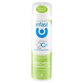 Image of Infasil Doccia Fresh Freschezza Dinamica Deodorante Spray 150 ml 5013965795084
