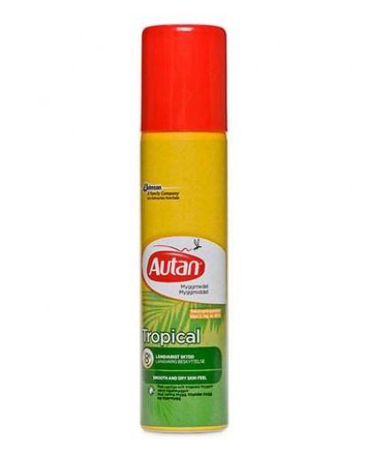 Image of Autan Tropical Spray Protezione Insetti 100 Ml 5000204616439