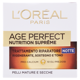 Image of L´Oréal Paris Age Perfect Nutrition Supreme Trattamento Riparatore Notte Pelli Mature e Secche 50 ml 3600521992463