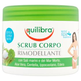 Image of Equilibra Scrub Corpo Rimodellante Con Sali Marini Del Mar Morto Aloe 600 Ml 8000137011001