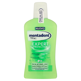 Image of Mentadent Colluttorio Expert Protection Maximum protection 500 ml 8711700564038
