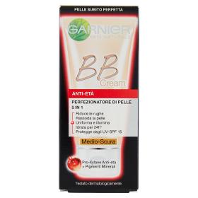 Image of Garnier BB Cream Anti-Eta' Perfezionatore di Pelle 5 in 1 Medio-Scura 50 ml 3600541228610