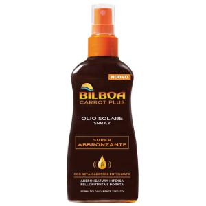 Image of Bilboa Carrot Plus Olio Solare Spray Super Abbronzante 200 ml 8002410021165