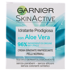 Image of Garnier Idratante Prodigiosa con Aloe Vera Crema viso Idratante Rinfrescante Pelli Normali 50 ml 3600541267008