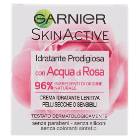 Image of Garnier Idratante Prodigiosa con Acqua di Rosa Crema Idratante Lenitiva per Pelli Secche 50 ml 3600541267015