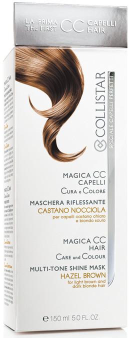 Image of Collistar Magica CC Capelli Maschera Riflessante Cura e Colora - Castano Nocciola 150 ml 8015150292771