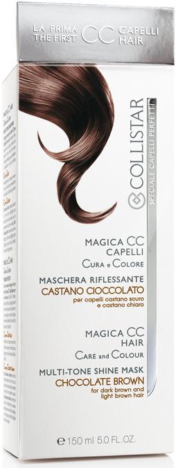 Image of Collistar Magica CC Capelli Maschera Riflessante Cura e Colora - Castano Cioccolato 150 ml 8015150292788