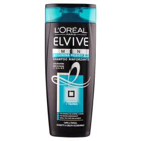 Image of Elvive Men Arginina Resist X3 Shampoo Rinforzante Capelli Fragili 250 ml 3600522220190