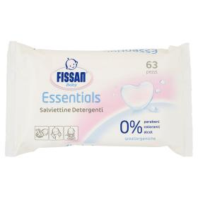 Image of Fissan Baby Essentials Salviettine Detergenti 63 pezzi 8711700965972